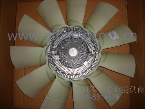 东风雷诺发动机配件dci11硅油风扇离合器1308zd2a-010