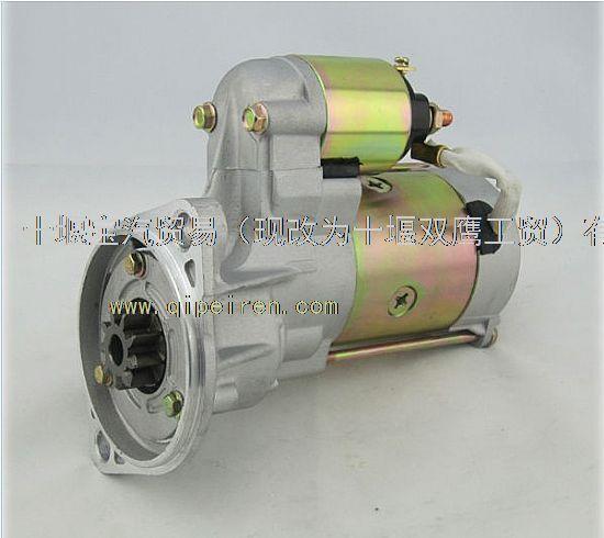 供应电装减速起动机s13555五十铃柴油发动机马达
