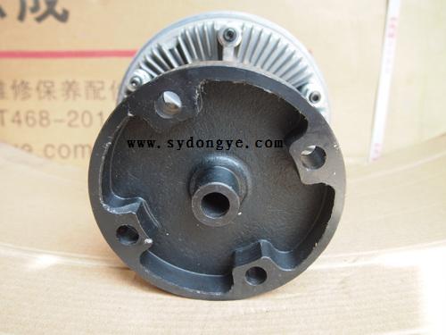东风天龙汽车康明斯发动机1308010-k0801硅油风扇叶,销售电话:0719